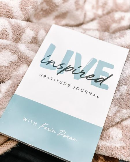 """I'm obsessed with this Live Inspired Gratitude Journal! It's for the woman who wants to do a little more for herself, to be more intentional and live life with positivity and gratitude. I also linked this """"In The Wild"""" Throw Blanket from Nordstrom! Click here to shop now! http://liketk.it/3a1J4 #liketkit @liketoknow.it #StayHomeWithLTK #LTKhome #LTKfamily @liketoknow.it.family Follow me on the LIKEtoKNOW.it shopping app to get the product details for this look and others"""