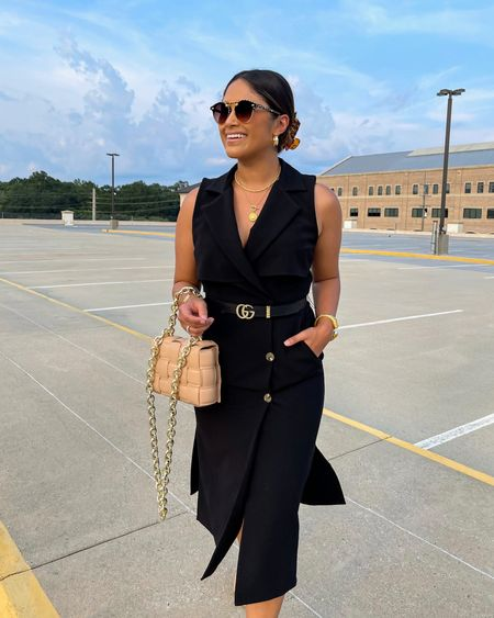Trench vest duster marked down to only $69 starting NOW! (This offer lasts only until 11:59PM CST Saturday)   #workwear #guccibelt #gibsonlook #lbd #littleblackdress #krewesunglasses  #falloutfits  #LTKunder100 #LTKstyletip #LTKsalealert