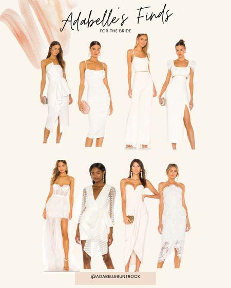 White dress bride wedding   #LTKunder100 #LTKwedding