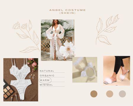 HALLOWEEN COSTUME IDEA!!'👻  ✨sexy angel✨ Angel, sexy Halloween costume, Halloween costume ideas, costume idea, shein, fall outfit, fall ootd, fall style   #LTKHoliday #LTKstyletip #LTKSeasonal