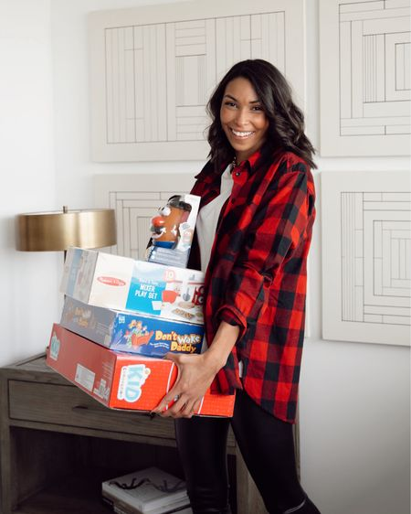 I've already shopped all the kids on my list, and it was budget friendly and mama got some good gifts! #sponsored Shopping for the kids this year was super easy with @walmart. Screen shot this picture to shop my look and toys that are under 25 bucks and the kids will love! http://liketk.it/32wjc #liketkit @liketoknow.it #LTKgiftspo #LTKunder50 #LTKkids