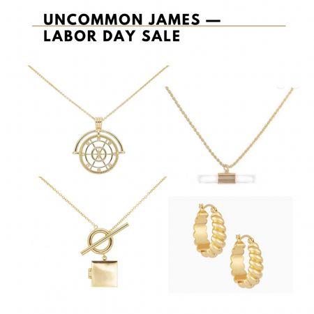 UNCOMMON JAMES JEWELRY SALE    #LTKunder50 #LTKsalealert #LTKbeauty