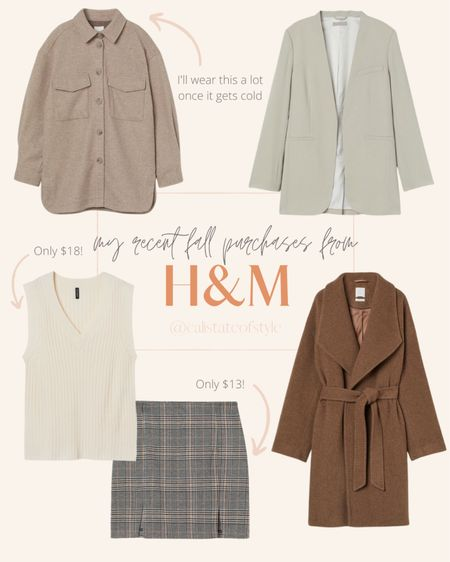 Rounded up some awesome neutral fall pieces this week!   #LTKworkwear #LTKunder100 #LTKSeasonal