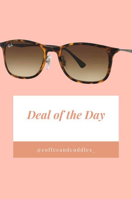 Amazon Deal of the Day!  36% off RayBan sunglasses 🕶   #LTKsalealert #LTKunder50 #LTKtravel   http://liketk.it/3f3Lt   #liketkit @liketoknow.it