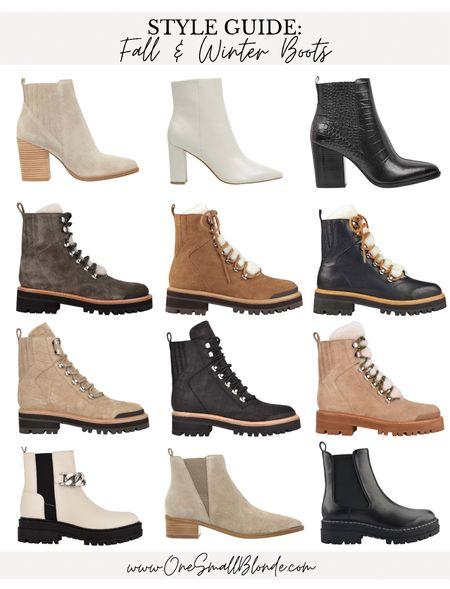 Boots and booties for fall 🤍🍁🍂  #LTKstyletip #LTKSeasonal #LTKshoecrush