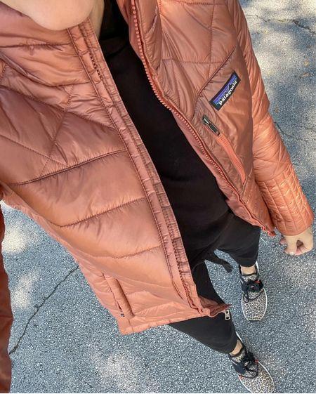 My think puffer coat restocked, wearing small   #LTKsalealert #LTKunder50 #LTKunder100