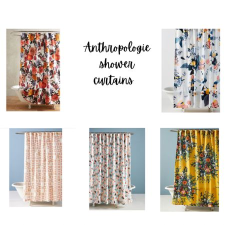 Boho floral Anthropologie shower curtains http://liketk.it/38h0i #liketkit @liketoknow.it #StayHomeWithLTK #LTKhome #LTKfamily @liketoknow.it.home Shop your screenshot of this pic with the LIKEtoKNOW.it shopping app