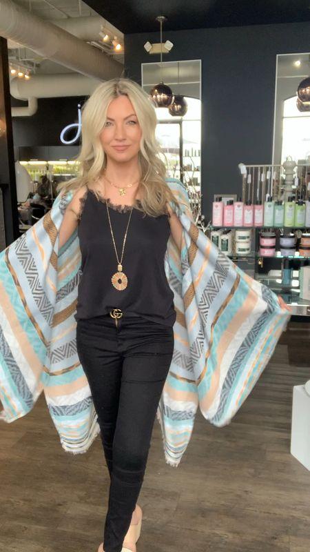 Kimonos to wear with basics for spring   #LTKshoecrush #LTKunder50 #LTKSpringSale
