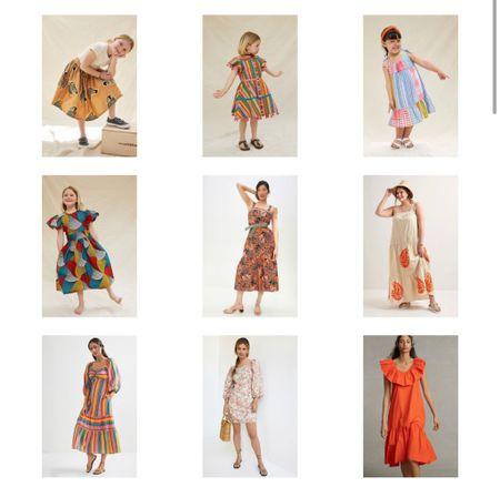 Use code PSST to get extra 25% off dresses on sale at Anthropologie  Kids dresses Women's dresses Summer dresses Vacation dresses     #LTKsalealert #LTKstyletip #LTKkids