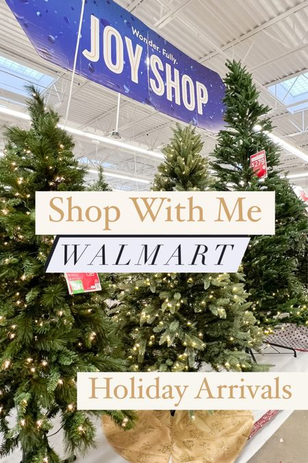 Shop with me, Walmart holiday arrivals #ad @walmart #walmarthome