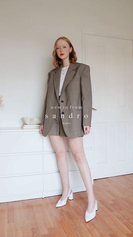 New In Sandro Pieces 🤍   #LTKworkwear #LTKstyletip #LTKeurope