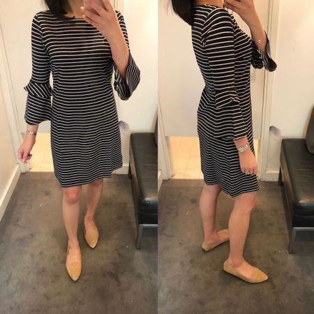 Love this $75 dress. It runs small and short so I took size 0 regular for a modest length and relaxed but flattering fit. @liketoknow.it http://liketk.it/2v6I2 #liketkit #LTKsalealert #LTKunder100