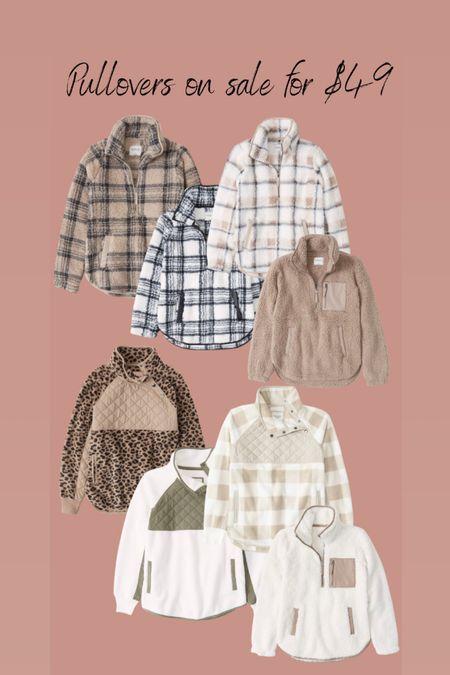 Abercrombie and Fitch pullovers on sale   #LTKsalealert #LTKCyberweek #LTKstyletip