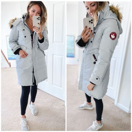 The warmest winter jacket you will own, Canada weather, Canada goose, shacket, winter jacket, Walmart fashion, target style, zulily, sneakers, down jacket, amazon fashion  #LTKunder100 #LTKtravel #LTKsalealert