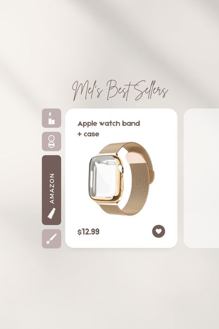 Apple Watch band + case from Amazon