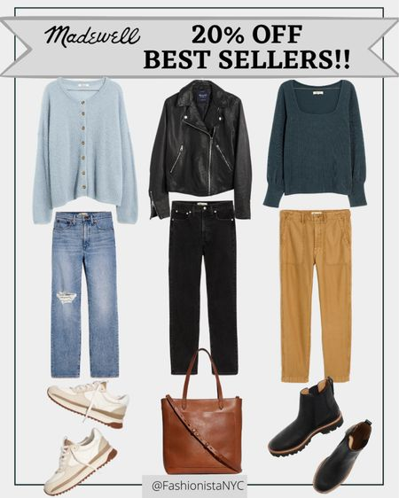 Best Sellers at Madewell !!! Madewell Insiders score 20% OFF site wide!!! Jeans - Denim - Moto - Jacket- Leather Jacket - Sneakers - Trend - Fall Outfits - Work Wear - FallFashion #LTKBackToSchool - Boots - Lugsole Boots - Handbag - Tote - Cardigan Sweater - Pants - Madewell - SALE   Follow my shop on the @shop.LTK app to shop this post and get my exclusive app-only content!  #liketkit #LTKunder50 #LTKunder100 #LTKsalealert #LTKfit #LTKshoecrush #LTKstyletip #LTKbeauty #LTKitbag #LTKtravel #LTKworkwear #LTKhome #LTKbrasil #LTKeurope #LTKfamily #LTKwedding #LTKswim #LTKSeasonal #LTKHoliday #LTKstyletip @shop.ltk http://liketk.it/3onYA