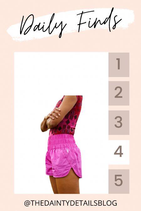 Daily finds: love the pink running shorts!   #LTKfit #LTKunder50 #LTKstyletip