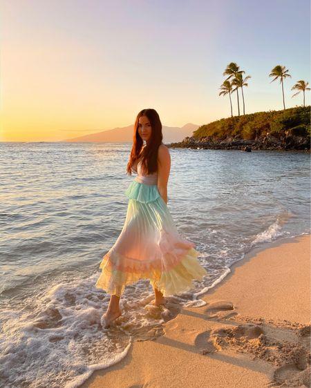 Mermaid vibes at sunset. #beachlook http://liketk.it/37TJq #liketkit @liketoknow.it