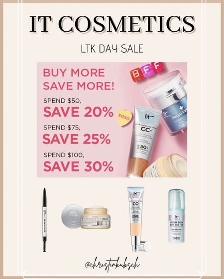 It cosmetics ltk day sale   http://liketk.it/3hu0u #liketkit @liketoknow.it #LTKbeauty #LTKunder50 #LTKsalealert