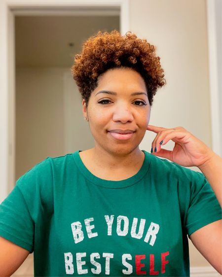 """I've never wanted to the """"Best"""" Mom. I've always strived to be the """"Best"""" ME. Life isn't a competition. This """"Be Your Best Self"""" pajama shirt from Old Navy is perfect! If you haven't checked out their loungewear, you should! I've linked a few of my faves! Shop your screenshot of this pic with the @liketoknow.it shopping app. http://liketk.it/34il7 #liketkit #StayHomeWithLTK #LTKgiftspo"""