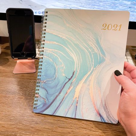 Love my new 2021 planner! Perfect size to fit in my purse and keep track of my to do lists, appointments, etc. Linking my phone stand as well! I have the rose gold color, but also available in several other colors. @liketoknow.it #liketkit #2021planner #planner #phonestand #amazonfinds #amazon #organization #office #workfromhome #wfh http://liketk.it/34Ym8