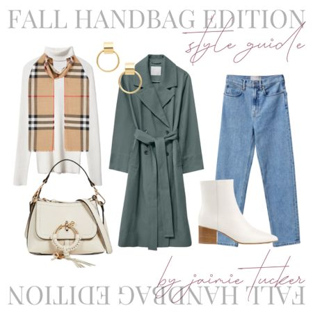 If you've missed my fall handbag post, click here: https://bit.ly/3tVmCFE. I created a style guide for the Joan Mini Shoulder Bag, and I love how effortless but chic this look is. Perfect for an upcoming dinner or an outfit to wear at the office! | #workwear #workoutfit #officewear #dinneroutfit #trenchcoat #falltrenchcoats #everlanedenim #straightlegdenim #booties #ankleboots #fallhandbags #turtleneck #JaimieTucker  #LTKworkwear #LTKSeasonal #LTKstyletip