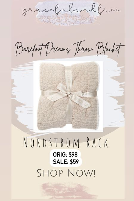 Barefoot Dreams Cozy Throw on sale Nordstrom Rack. Barefoot dreams blanket. Throw blanket. http://liketk.it/3iRqV #liketkit @liketoknow.it #LTKhome #LTKsalealert #LTKunder100 @liketoknow.it.home Shop your screenshot of this pic with the LIKEtoKNOW.it shopping app
