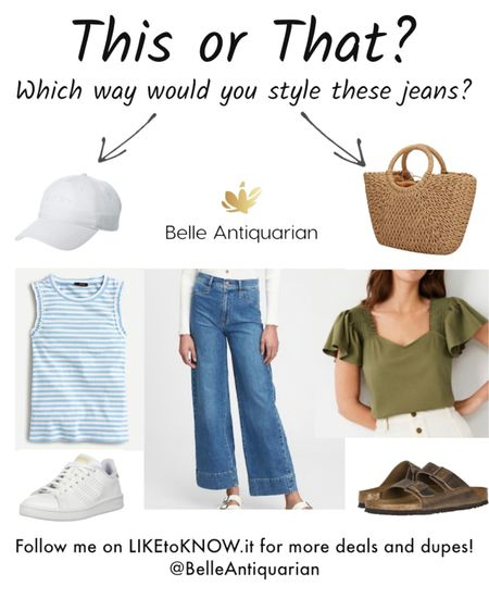 Which way would you style these jeans? They can go sporty or more boho! There are so many ways to wear them!   http://liketk.it/3bhyb #liketkit @liketoknow.it   #LTKshoecrush #LTKsalealert #LTKstyletip Shop my daily looks by following me on the LIKEtoKNOW.it shopping app