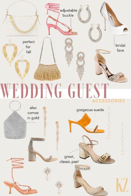 Wedding Guest Accessories - Clutches, Pumps, Necklaces, Earrings  #LTKshoecrush #LTKwedding #LTKitbag