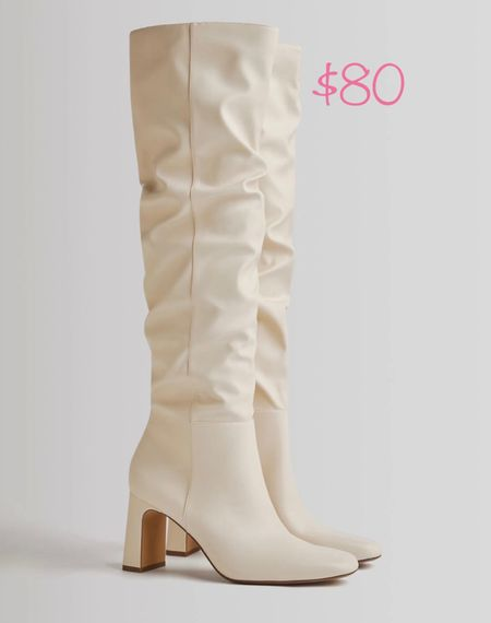 Must have for the Fall/Winter season🤍 and they're under $100! #boots #bootseason #slouchyboots #highboots #fallstyle  #LTKunder100 #LTKshoecrush #LTKSale