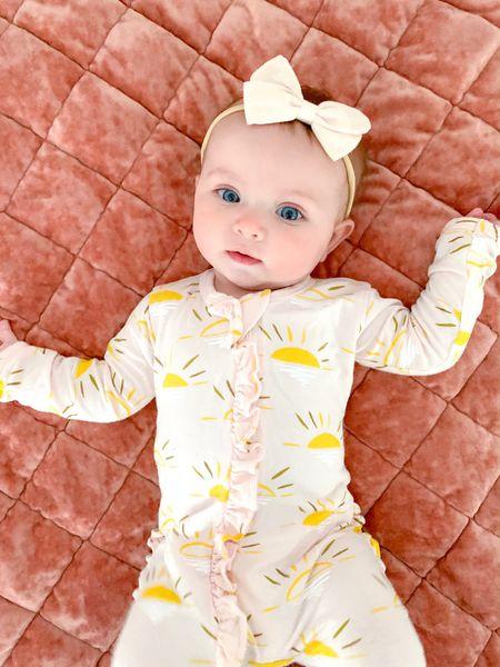 Baby girl sleepers and gifts http://liketk.it/3iVtE #liketkit @liketoknow.it #LTKfamily #LTKbaby