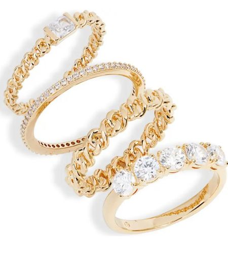 NSale pick: Zoe stacking rings by Nadri  #LTKstyletip #LTKsalealert #LTKunder100