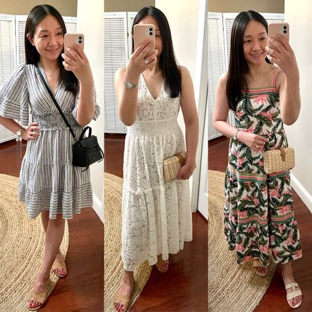 May 30, 2021 - New reviews of these dresses and a few other items are now on whatjesswore.com. Thanks for reading! @liketoknow.it http://liketk.it/3gry3 #liketkit #LTKunder50 #LTKunder100 #LTKstyletip