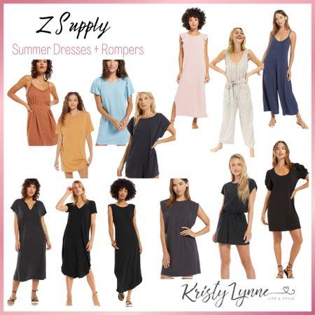 Lightweight summer dresses & jumpsuits that are perfect for day or evening!   #LTKworkwear #LTKunder100 #LTKSeasonal