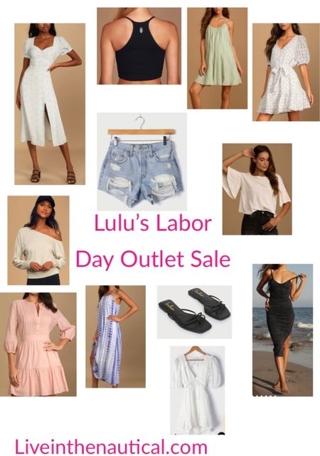 Labor Day means Labor Day Sales! Lulu's is having an outlet sale where everything is 40 and under! Here are some of my favorite picks! I size between a small and a medium.   #LTKSeasonal #LTKbacktoschool #LTKsalealert