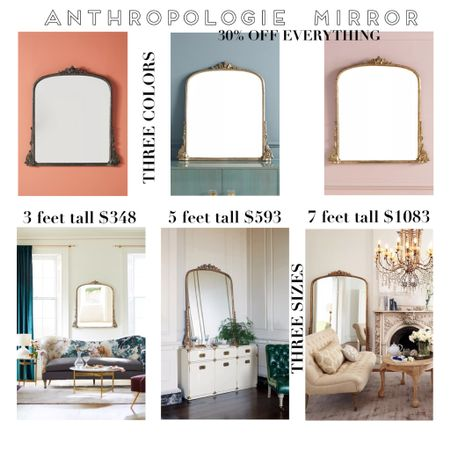Anthropologie SALE, anthropologie Mirror, gleaming Primrose mirror, floor mirror, brass mirror, black mirror, ornate mirror, black Friday sale, home Decor, living room decor, 5 foot mirror, 7 foot mirror, table top mirror, wall mirror, wall art, gilded mirror  http://liketk.it/32gEd #liketkit @liketoknow.it #LTKhome #LTKsalealert #LTKstyletip