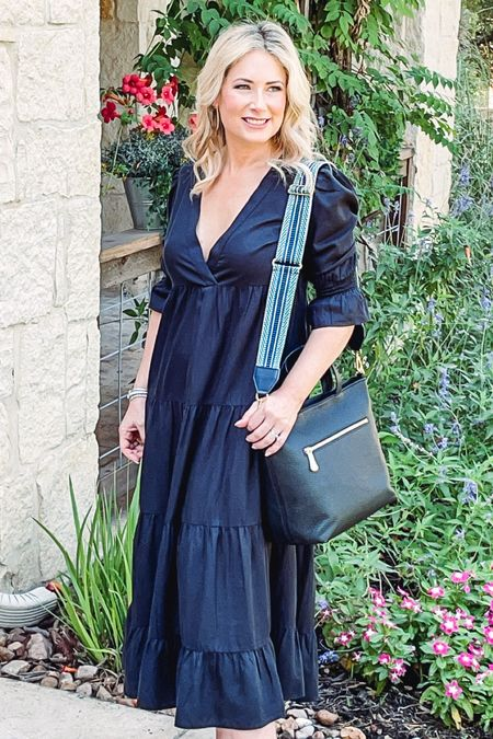 The perfect everyday handbag in black shown with optional decorative strap. #marniesatchel #handbag #crossbody #tophandlebag #giginewyork #madeintheusa   #LTKworkwear #LTKitbag #LTKtravel