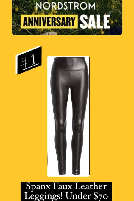If you don't have the best selling Spanx faux leather leggings what are you even waiting for? 😜 I wear the 2x in these. #fauxleatherleggings #fauxleather   #LTKcurves #LTKsalealert #LTKunder100