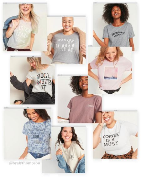 50% OFF ALL GRAPHIC TEES @ Old Navy!! [Today Only]🛍   Shop your screenshot of this pic with the LIKEtoKNOW.it shopping app http://liketk.it/34ewe #liketkit @liketoknow.it #LTKsalealert #LTKstyletip #LTKunder50 @liketoknow.it.family