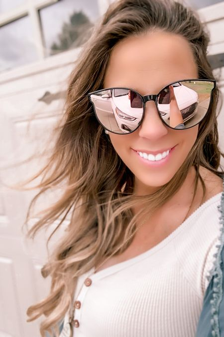 #liketkit @liketoknow.it #LTKfamily #LTKSpringSale @liketoknow.it.family @liketoknow.it.home Shop your screenshot of this pic with the LIKEtoKNOW.it shopping app   The cutest sunnies you will find this summer! http://liketk.it/3ceKS