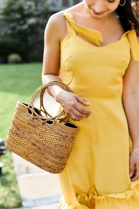 Calling all petites: we have a new-found obsession with @petitestudionyc and @julietatorresd recently tried on some gorg dresses. For more, visit the blog or shop her little yellow dress in the LIKEtoKNOW.it app (it's 20% off right now) http://liketk.it/2C7Sz #liketkit @liketoknow.it #Petitestudionyc #sponsored #LTKsalealert #petitedresses #yellowdresses #LTKwedding #LTKtravel