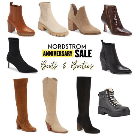 So many amazing boots and booties on SALE     #LTKsalealert #LTKunder100 #LTKshoecrush