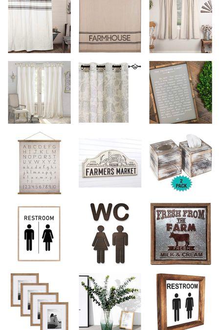 Farmhouse favorites http://liketk.it/2IWE4 #liketkit @liketoknow.it #LTKhome