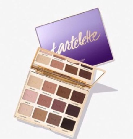Every color in this eyeshadow pallet will get used✔️ Tarte pallets are affordable and make a great gift! . Makes a great stocking stuffer as well! .   #LTKunder50 #LTKbeauty #LTKGiftGuide