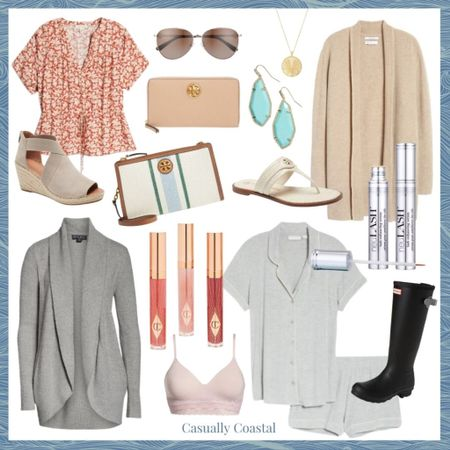 Nordstrom's Anniversary sale is now open to everyone and here are a few of my favorite picks for women & beauty! A full blog post with my top picks for home, men, baby and kids can be found on casuallycoastal.com! - beach style, coastal accessories, summer accessories, preppy style, summer fashion, resort style, resort wear, beach style, summer pajamas for women, summer pajama sets, pajama short set, leather sandals flat, flat sandals, flat leather sandals, neutral slides, neutral sandals, white sandals leather, white sandals flat, tory burch sandals, tory burch handbags, nordstrom anniversary sale, nsale, barefoot dreams, gifts gifts for her, gifts for mom, mothers day gift, coastal accessories, turquoise earrings, turquoise jewelry, drop earrings, kendra scott earrings, kendra scott drop earrings, statement earrings, summer accessories, summer accessories jewelry, summer earrings, lip gloss, dressy sandals, aviators, aviator sunglasses, cozy sweaters, tan sweaters, cashmere sweaters, neutral sweaters, tan cardigans,   Gold pendant necklace, coin necklace, simple necklace, everyday necklace, Gorjana necklace, necklaces on sale, nordstrom necklaces, jewelry for gift, wedge sandal, suede wedges, suede wedge sandal, kenneth cole sandals, neutral wedges, platform sandals, jute platform sandals, hunter boots, black rain boots, tall rain boots, hunter rain boots on sale, neu lash, tan wallet, wallet with zipper, tory burch wallet, pink bras, natori bras, wireless bras, soft cup bras, bras on sale, floral top, tops for work, top with drawstring, short sleeve tops for work, floral short sleeve tops    #LTKshoecrush #LTKsalealert #LTKitbag