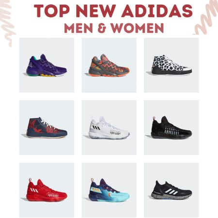 These hot new adidas styles may not be on sale but they are definitely on trend!  Sneakers and basketball shoes that will turn heads for school or just to make a fashion statement!   #LTKsalealert #LTKmens #LTKshoecrush