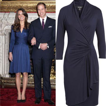 Kate inspired wrap dress   #LTKeurope