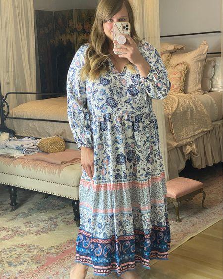 Such a Beautiful midi dress from old navy! Fits tts! http://liketk.it/3jw1q #liketkit @liketoknow.it #LTKunder50 #LTKstyletip