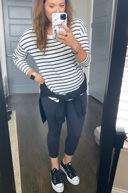 This top is also part of my Walmart try on but wanted to share early bc I think it'll sell out!! Only $8 and so many colors! So comfy! I sized down but get your TS for a longer FIT.    #LTKstyletip #LTKsalealert #LTKunder50
