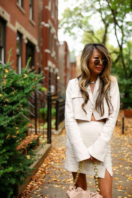 Fall outfit, set, blazer set, revolve outfit, fall style   #LTKstyletip #LTKHoliday